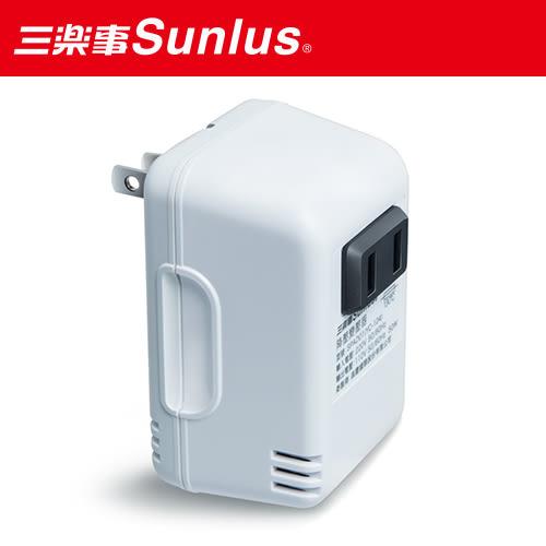【Sunlus】三樂事暖暖熱敷墊(大)+220V變壓器~出國也可用!!