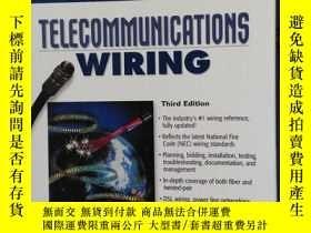 二手書博民逛書店英文原版罕見telecommunications wiringY