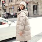 休閒夾克外套加絨 修身顯瘦棉服女生外套 中長款棉襖女士外套 羽絨外套韓版外套 冬季加厚上衣