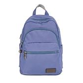 【南紡購物中心】J II 後背包-多隔層防潑水後背包-藍莓色-6390-24