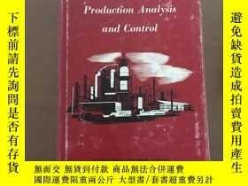 二手書博民逛書店Production罕見Analysis and Control