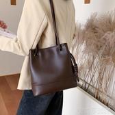 水桶大包包女2020春夏季新款復古簡約單肩包大容量質感女士斜挎包 茱莉亞