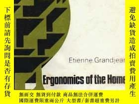 二手書博民逛書店Ergonomics罕見of the HomeY346464 G