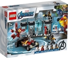 【LEGO樂高】SUPER HEROES 鋼鐵人軍械庫#76167