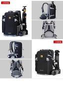 攝影背包 安諾格爾A2313輕便戶外防盜攝影包單反後背相機包佳慧單反包背包LX 智慧e家