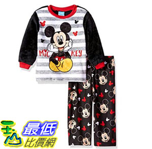 [7美國直購] 迪士尼 睡衣套裝 Disney Toddler Boys Mickey Mouse 2-Piece Fleece Pajama Set 2T