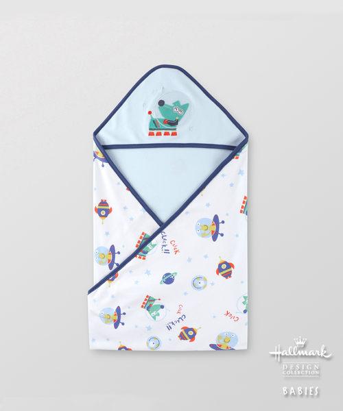 Hallmark Babies純棉外太空包被/包巾/毯子 HG1-B01-A6-AB-MB