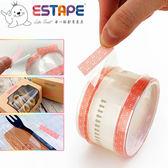 【ESTAPE】抽取式OPP封口透明膠帶|豬鼻|32入(36mm x 55mm/易撕貼)