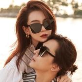 GM墨鏡太陽鏡女年新款潮流男士開車網紅眼鏡大臉顯瘦防紫外線 青木鋪子