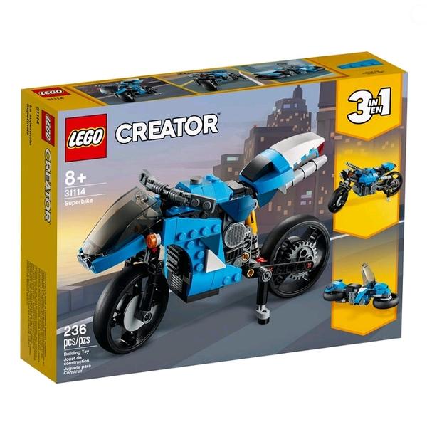 樂高積木 LEGO《 LT31114 》創意大師 Creator 系列 - 超級摩托車 / JOYBUS玩具百貨