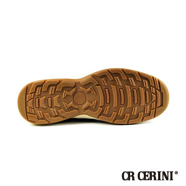 【CR CERINI】舒適綁帶休閒鞋 咖啡(81983-BR)