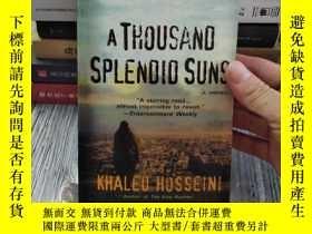 二手書博民逛書店燦爛千陽(英文版)Thousand罕見Splendid SunsY184305 Khaled Hosseini