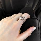戒指開口可調節小眾戒指女潮ins網紅個性時尚轉運日系輕奢食指戒飾品 雲朵走走