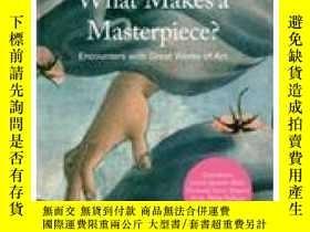 二手書博民逛書店WHAT罕見MAKES A MASTERPIECE?Y237948 Christopher Dell 編 T
