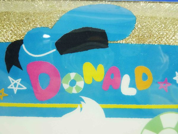 【震撼精品百貨】Donald_唐老鴨~筆袋-金蔥游泳圈