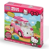 【震撼  】Hello Kitty 凱蒂貓Sanrio HELLO KITTY 積木系列KT 麵包車10934