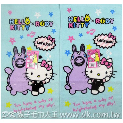 Kitty&Rody 跳跳馬 星星童巾 ~DK襪子毛巾大王