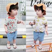 新款男童短袖t恤韓版寶寶純棉體恤嬰兒半袖上衣兒童衣服艾美時尚衣櫥