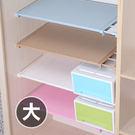 ✭米菈生活館✭【A33】藤編款伸縮分層隔板(大) 櫥櫃 支架 免釘 置物 夾層 收納 免釘 宿舍 鞋櫃