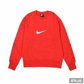 NIKE 男 AS M NSW SWOOSH SBB CREW 紅 保暖 棉質-DA0087657