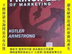 二手書博民逛書店Principles罕見of Marketing (Intern
