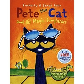 【麥克書店】 PETE THE CAT AND HIS MAGIC SUNGLASSES / 平裝繪本