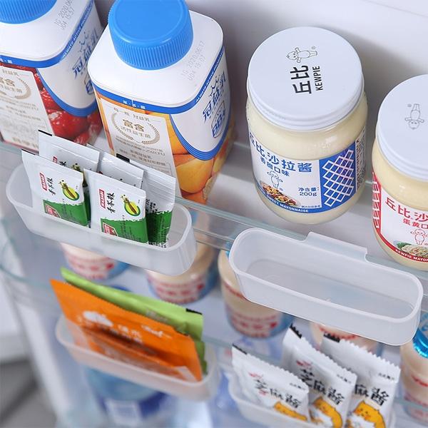 【BlueCat】冰箱 掛式 迷你 收納盒(1入) 調味包 醬包收納 廚房收納 收納架 冷藏