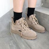 馬丁靴女 韓版百搭短筒  短靴
