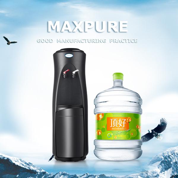 頂好 麥飯石涵氧桶裝水20L X 20瓶 + 立式溫熱飲水機 (台北宅配)