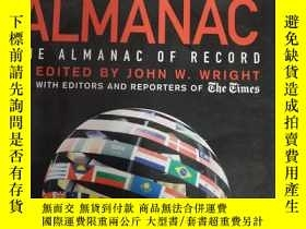 二手書博民逛書店The罕見New York Times Almanac 2010: The Almanac of Record