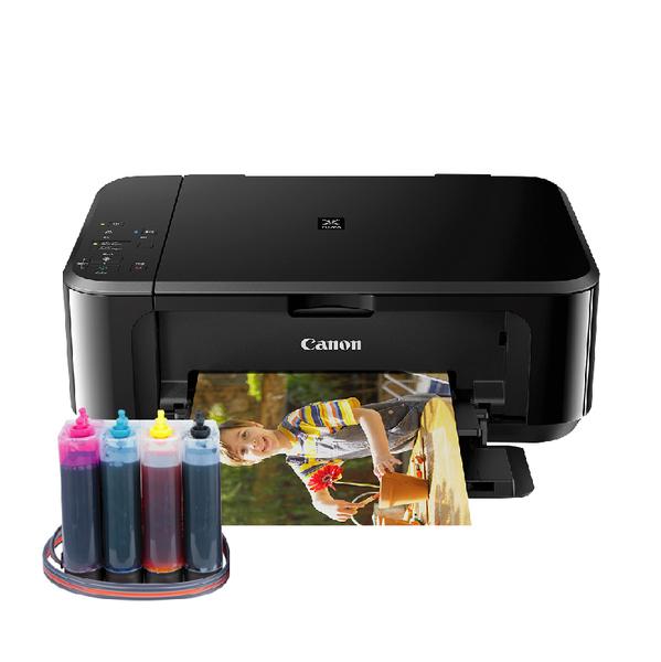 【加裝連續供墨系統】CANON MG3670 無線多功能相片複合機