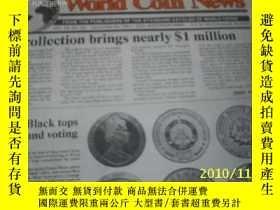 二手書博民逛書店World罕見Coin News(Vol.18,No.26)(D