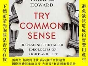 二手書博民逛書店Try罕見Common SenseY256260 Philip K. Howard W. W. Norton
