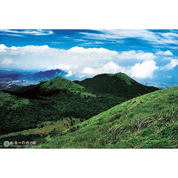【台製拼圖】風景系列 大屯西峰與向天山和面天山 (1000片) HPY01000-001