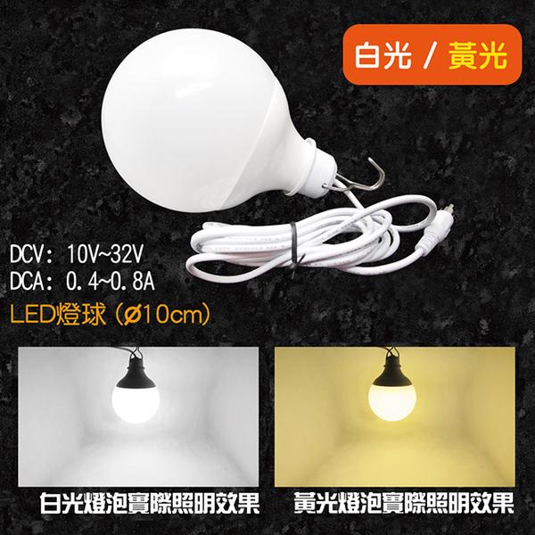 LB1210超廣角LED燈球12V/24V(12W) /攤販燈.燈泡.露營燈.釣魚燈.戶外燈.夜市燈.營業用.照明燈