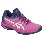 樂買網 ASICS 18FW 高階 輕量 女網球鞋 SOLUTION SPEED FF 1042A002-700 贈腿套