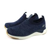 SKECHERS 懶人鞋 運動鞋 男鞋 深藍色 針織 52759WNVY no086