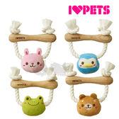 [寵樂子]日本 BONBI 棟木健齒玩具-四種 保健牙齒消解壓力狗玩具