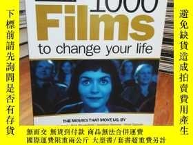 二手書博民逛書店1000罕見Films to Change Your LifeY