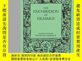 二手書博民逛書店The罕見Enchiridion Of ErasmusY2551