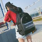 書包女高中大學生潮背包帆布大容量多層電腦...