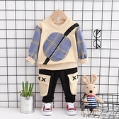 男童秋裝套裝2020新款兒童韓版兩件套小男孩連帽T恤春秋款寶寶童裝潮 艾瑞斯