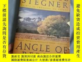 二手書博民逛書店Wallace罕見stegner Angle of repose