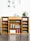簡易鞋櫃簡約現代玄關門廳多功能實木鞋架省空間家用經濟型