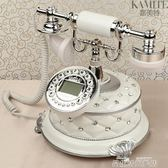 復古電話機 歐式仿古電話機座機美式電話機賓館家用白色固定辦公古董復古電話機