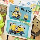 小小兵悠遊卡貼票卡貼紙 神偷奶爸 小小兵 凱文 史都華 悠遊卡貼票卡貼紙 COCOS DS025