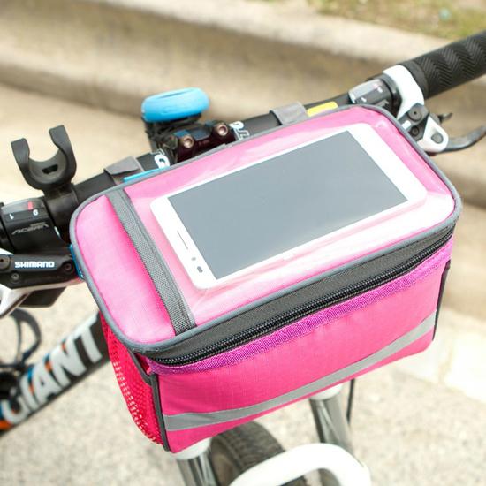 多功能可觸屏方包 SAFEBET 自行車 腳踏車 運動 配件 騎行 裝備 手機 單車【J183】MY COLOR