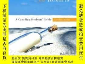 二手書博民逛書店Communicating罕見For Results: A Canadian Student s Guide-溝通