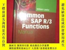 二手書博民逛書店Common罕見SAP R 3 Functions Manual