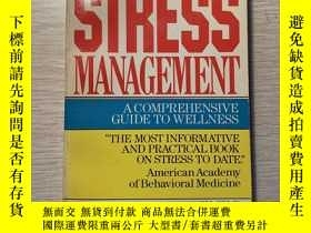 二手書博民逛書店stress罕見managementY227053 edward